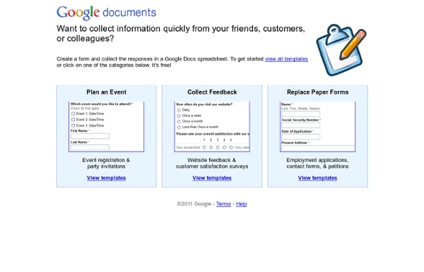 Google Forms | Pearltrees