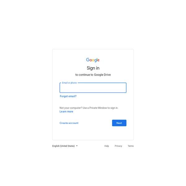 MonDrive - GoogleDrive