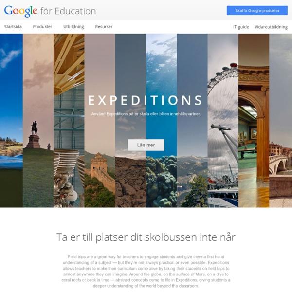 Expeditions Pioneer Program