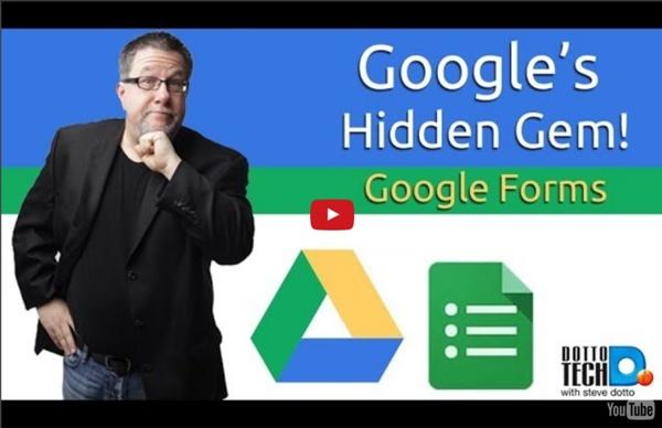 Google Forms - Google Drive's Hidden Gem