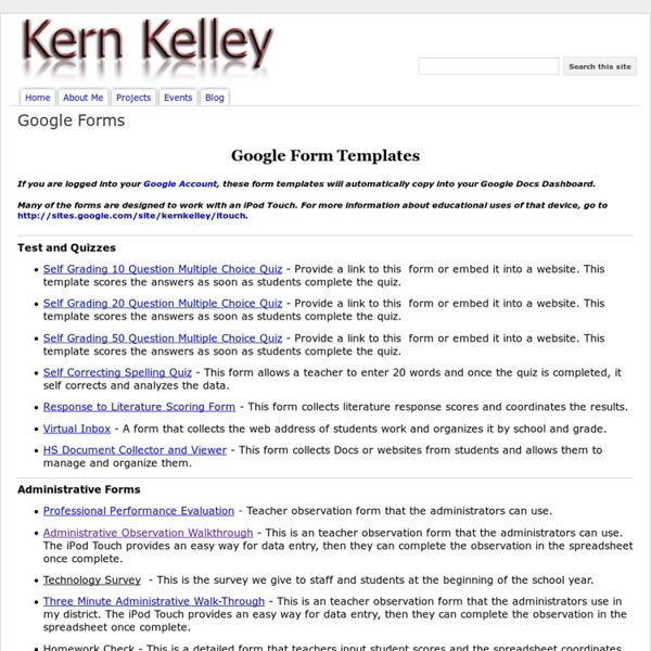 Forms - Kern Kelley