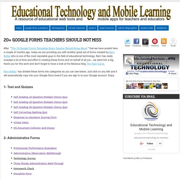 20+ Google Forms Teachers should not Miss