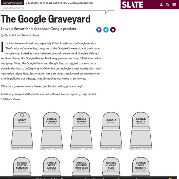 Google Reader joins graveyard of dead Google products