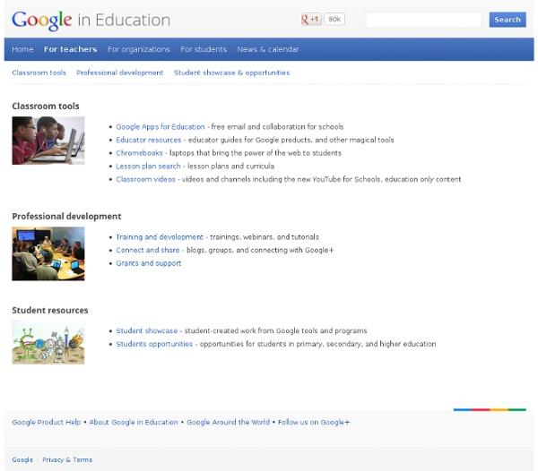 For Teachers – Google in Education