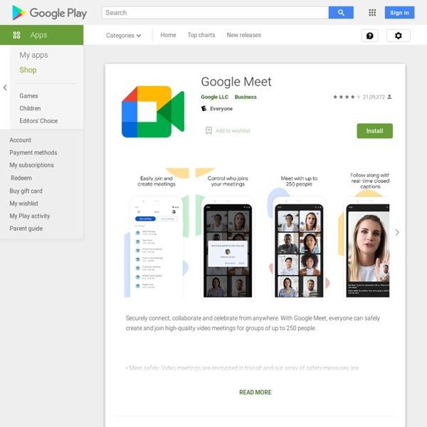Meet – Apps on Google Play