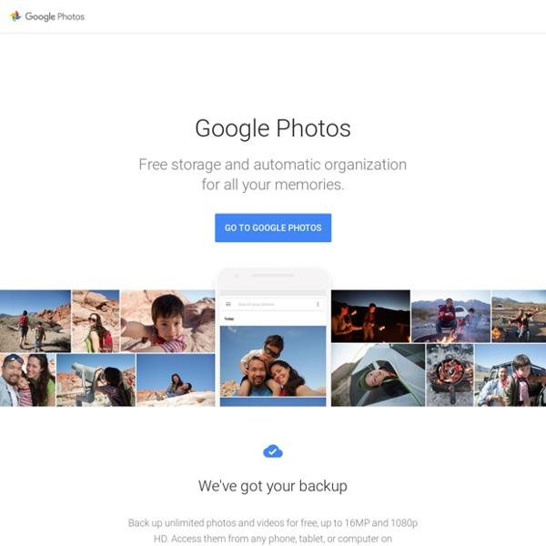 Photos - All your photos organized and easy to find