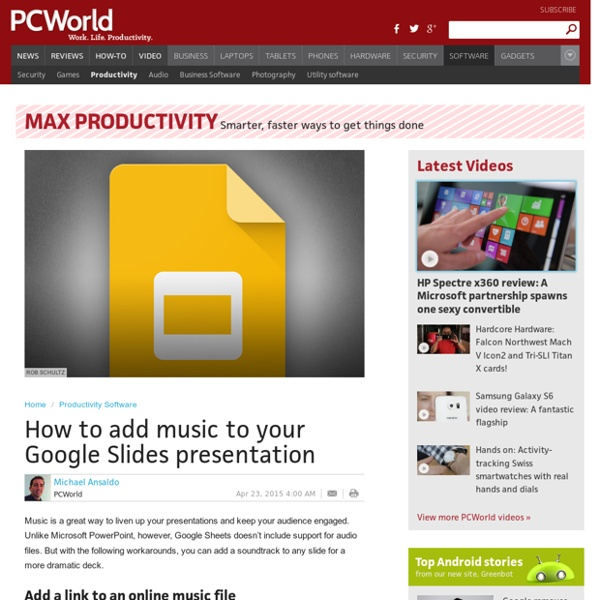 how to add music to your google slides presentation pearltrees