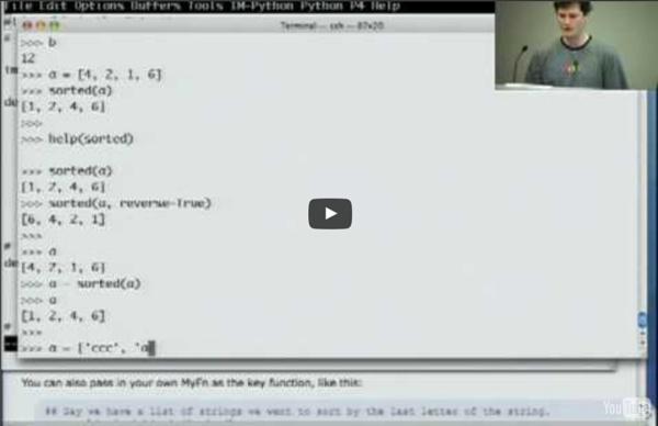 Google Python Class Day 1 Part 2