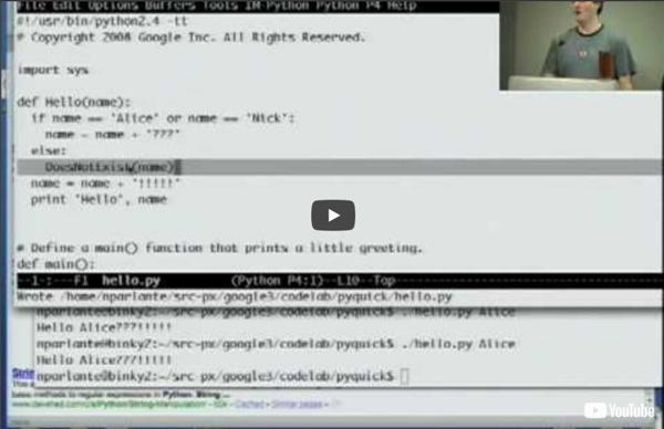 Google Python Class Day 1 Part 1