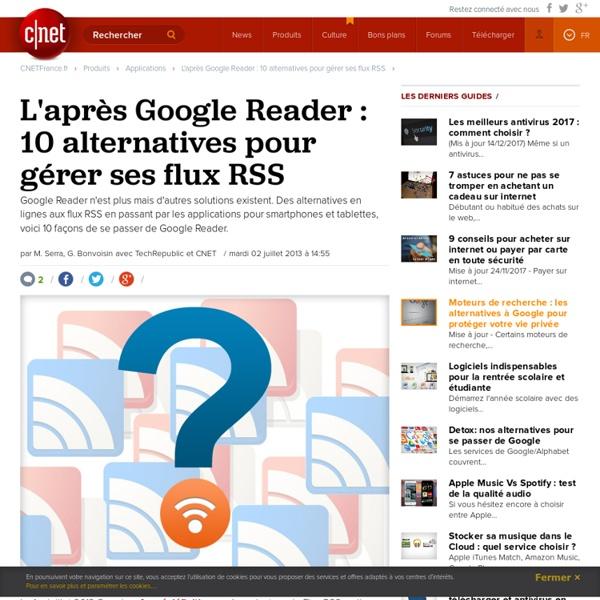 Cinq logiciels open source pour gérer vos flux RSS