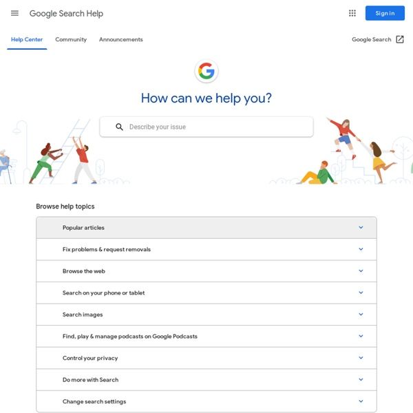 problems with google search google search help