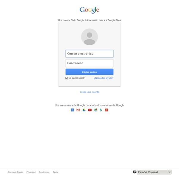 Google 協作平台,自建專案網站, 多媒體資料分享下載