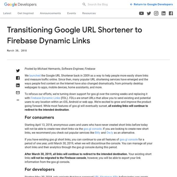 Google短址服務, 長網址變短, 且統計分析點擊來源與時間