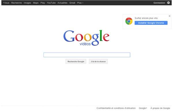 Google vidéos