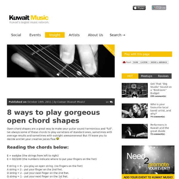 Kuwait's # 1 community for music,entertainment,events and live shows
