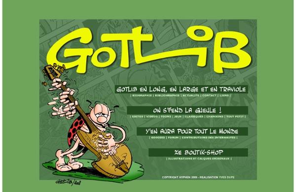 GOTLIB - LE SITE OFFICIEL