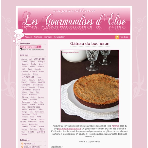 GourmandElise.com - Site de cuisine