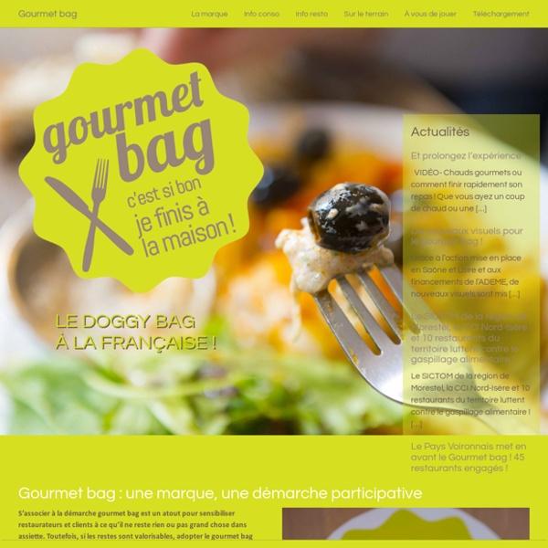 Gourmet bag, le doggy bag à la française