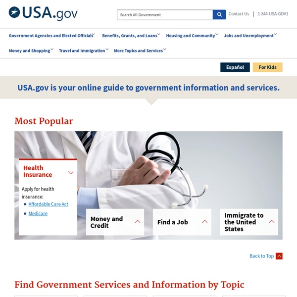 Search.USA.gov: The U.S. Government's Official Search Engine