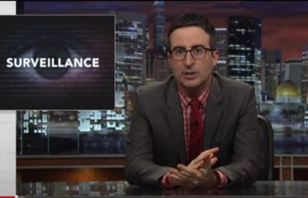 Last Week Tonight with John Oliver: Government Surveillance (HBO) - Edward Snowden
