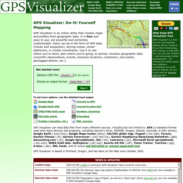 GPS Visualizer