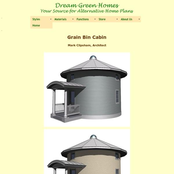 Grain Bin Cabin Plan