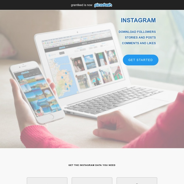 Instagram Search and Management