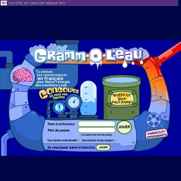 Gramm-O-L'eau