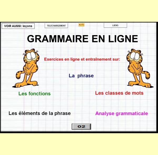 Grammaire en ligne