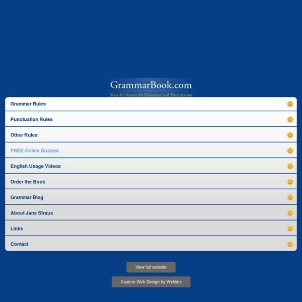 GrammarBook.com Mobile