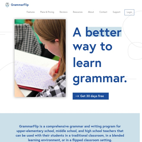 English Grammar Lessons for Teachers and Students