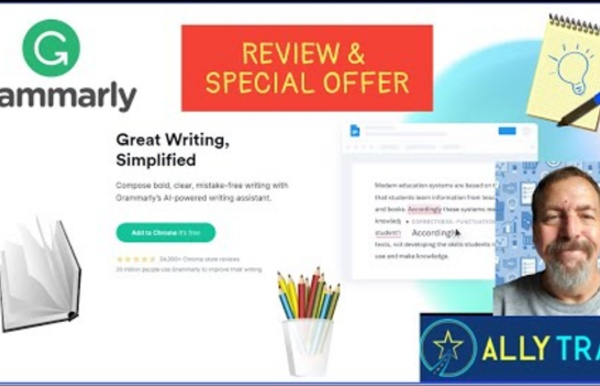 Best blogging tool around. Make sure your grammar is correct with a click.