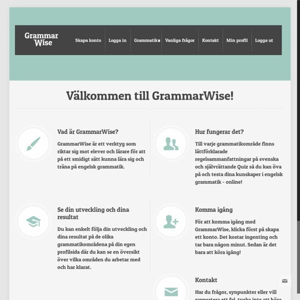 GrammarWise