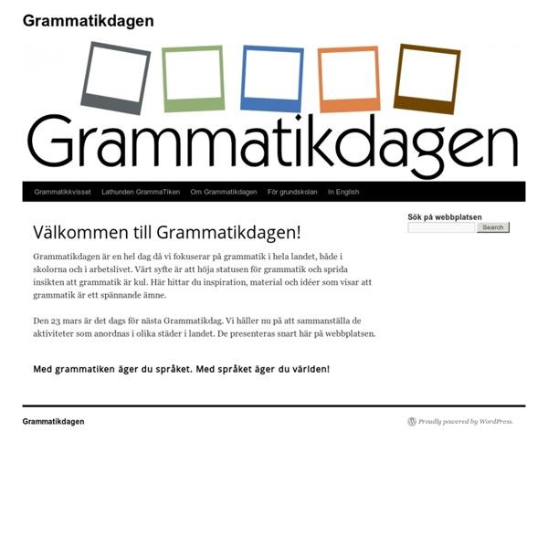Grammatikdagen