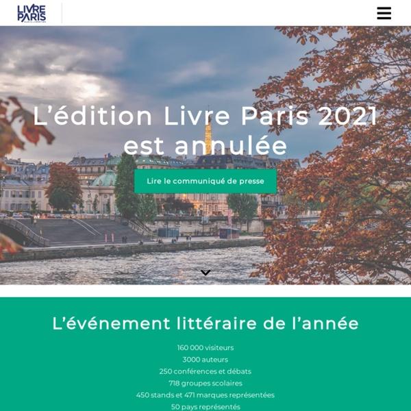 Le plus grand événement dédié au livre en France