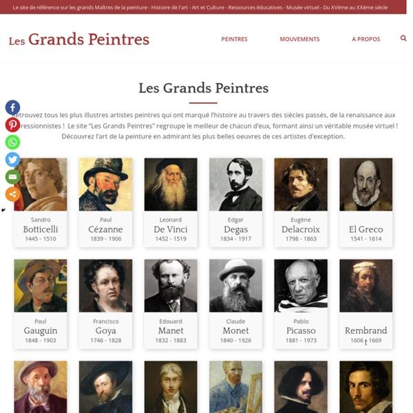 Les Grands Peintres - Musée virtuel