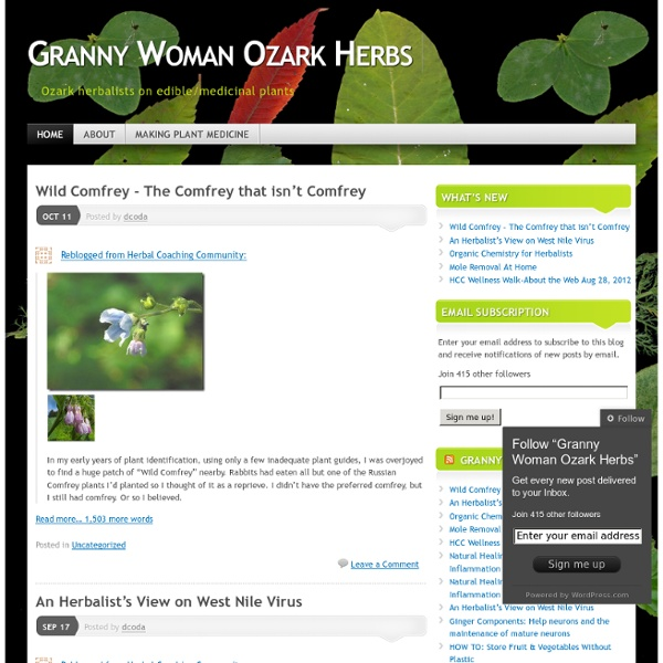 Granny Woman Ozark Herbs