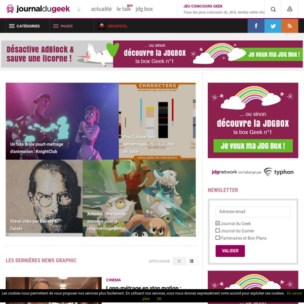Le Journal Graphic - Feed the graphic inside