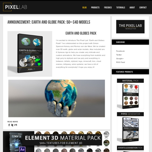 The Pixel Lab Motion Graphics Training Resource