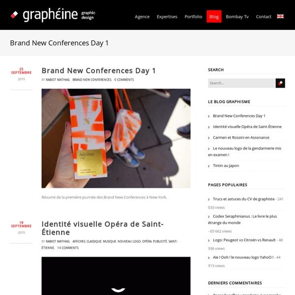 Blog graphisme, identité visuelle, typo, design...