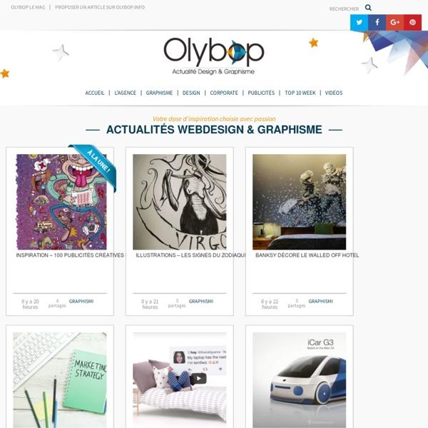 #Olybop - Blog Graphisme et Webdesign au quotidien
