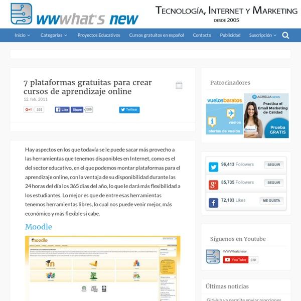 Cómo crear gratis cursos de aprendizaje online