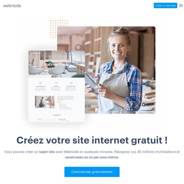 Création site web gratuitement -Webnode