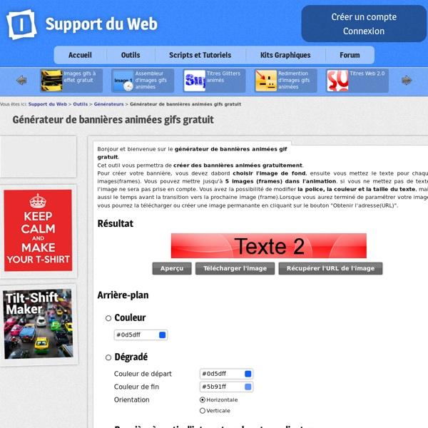 Générateur de bannières animées gratuit - banniere gratuite generateur banniere image animée gifs bannière gratuit gratuitement générateurs banniere gratuite enligne create en-ligne banner free banniere gratuite