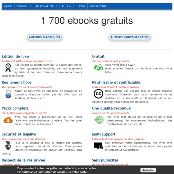 Bibebook - La BIBliothèque d'EBOOKs