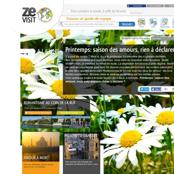Guides de voyage gratuits à écouter - Tourisme France et Monde