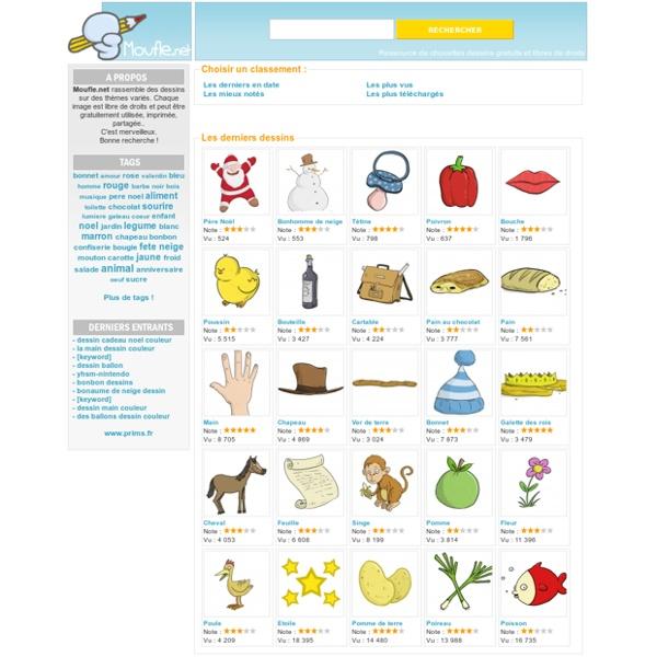 Moufle.net : Dessins gratuits à imprimer, partager..