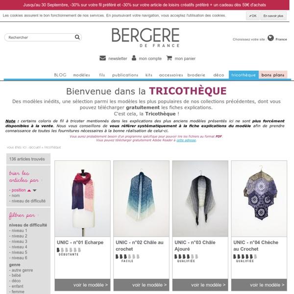 Modèles BERGERE DE FRANCE