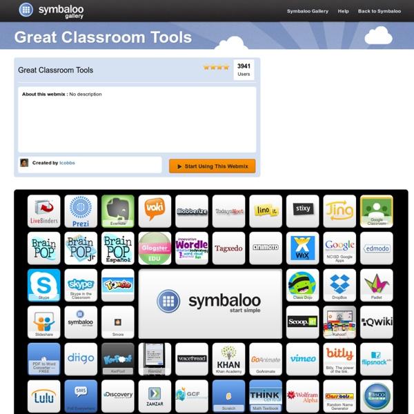 Great Classroom Tools