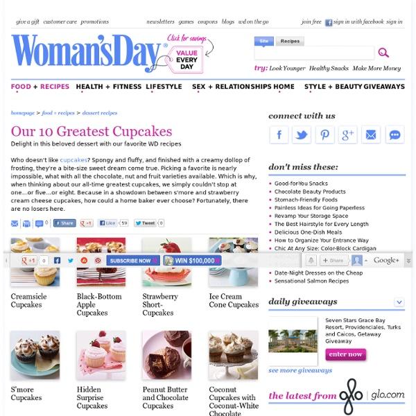 Cupcake Recipes - Easy Dessert Recipes at WomansDay.com